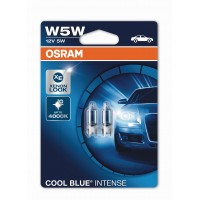 OSRAM W5W Cool Blue Intense 2KS/BAL