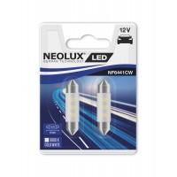 Neolux C10W 41mm Cold White 6000K 2KS/BAL