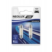 Neolux C5W 36mm Cold White 6000K 2KS/BAL