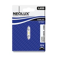 Neolux C5W 36mm Super Bright White 6700K 1KS/BAL