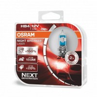Osram HB4 Night Breaker LASER Gen2 +150% 2ks/Bal.